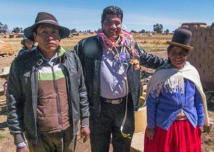 Pedro, Zenon, Manuela